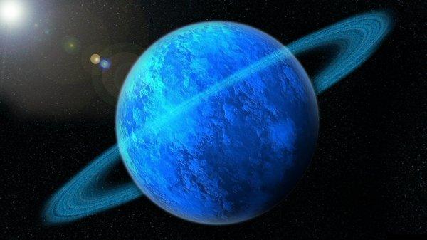 Полюса магнитного поля Урана меняются ежедневно
