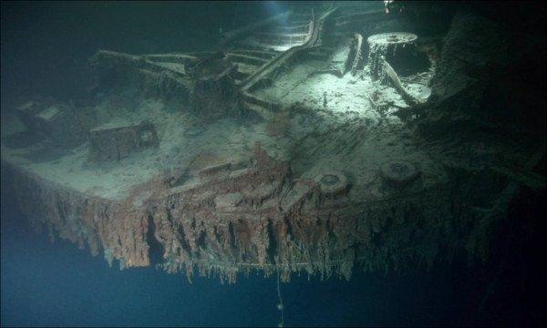 В Сеть попали снимки «Титаника» спустя 105 лет