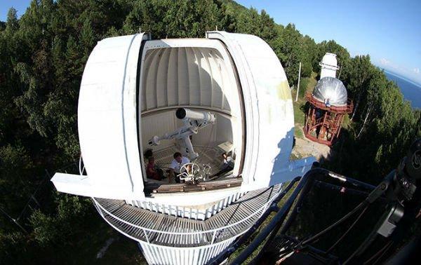 Под Иркутском установили первый телескоп для отслеживания космической погоды