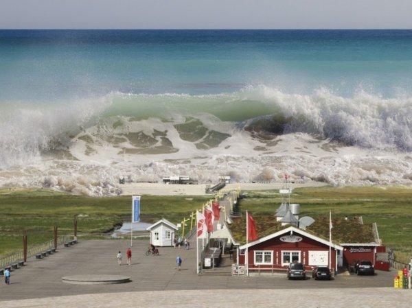 Повышение уровня моря лишит крова два миллиарда человек