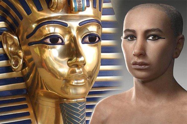 Ученые: Тутанхамон являлся лицом кавказской национальности