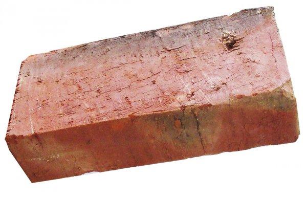 Житель Новосибирска нашел уникальный кирпич с возрастом, как у города