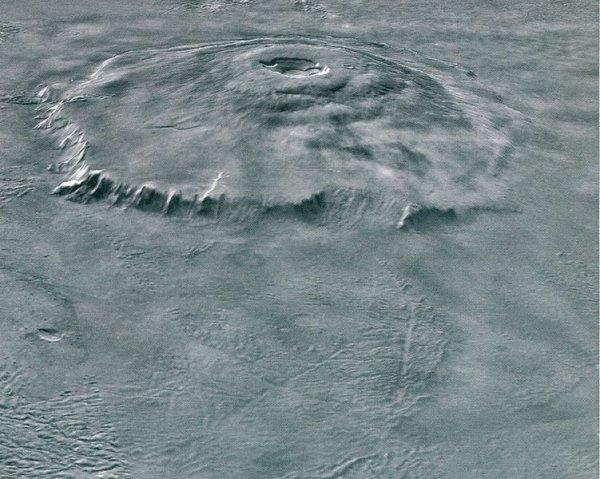 NASA показала загадочный снимок «Марсианского водопада»