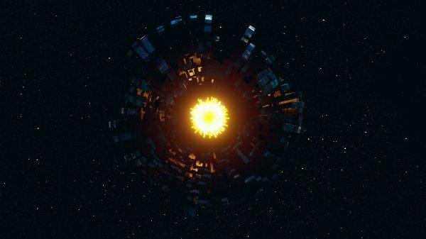 Ученые разбираются в причинах редкого свечения звезды Табби