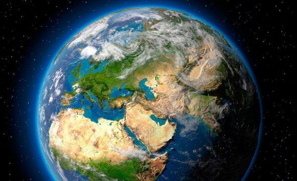 Ученые показали тень, пересекающую Землю