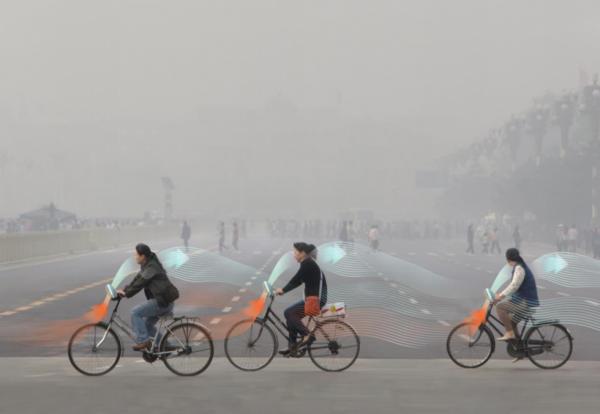 Ученые из Китая изобретут велосипед, фильтрующий воздух в процессе езды