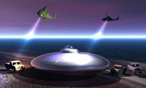 Как устроен НЛО: Свидетельства очевидцев