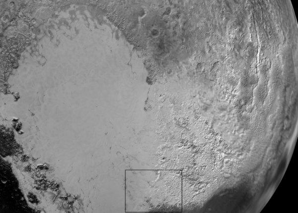 Уфологи: На Плутоне обнаружена база НЛО