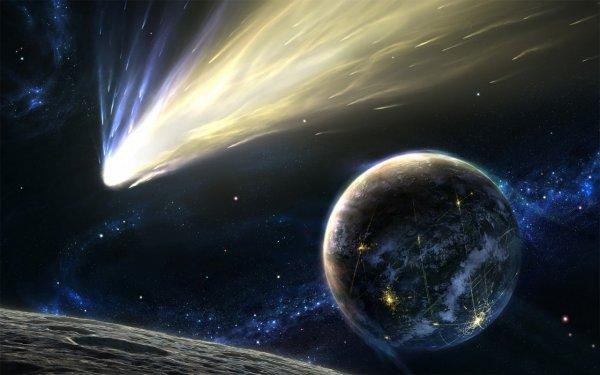 Ученые: Жизнь на Земле возникла благодаря метеоритам