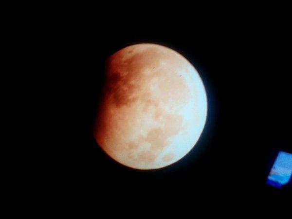 Жители Пензы опубликовали снимки лунного затмения