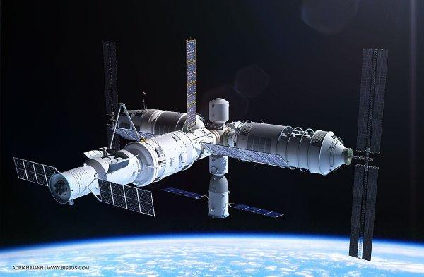 В 2018 году на Землю упадет китайская орбитральная станция