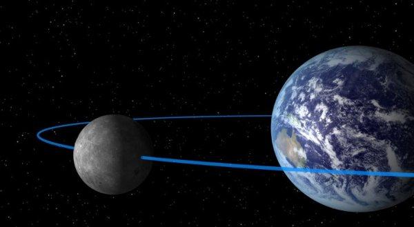 NASA опубликовало первый снимок Земли с Луны 1966 года