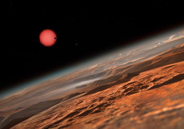 Астрономы выяснили возраст системы TRAPPIST-1