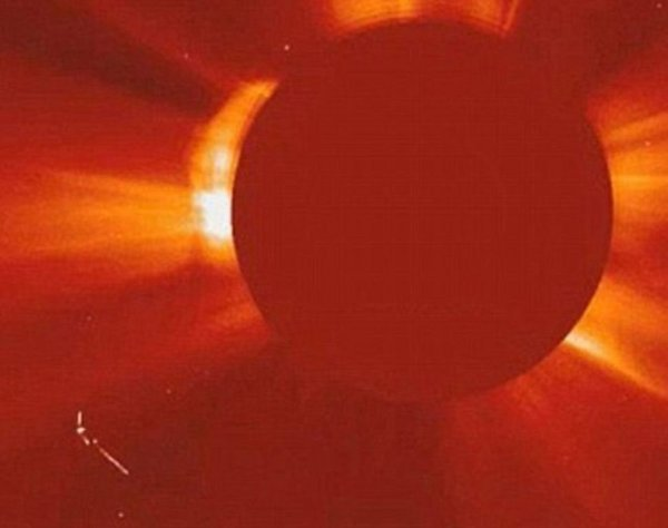 НЛО возле Солнца: Новые факты или старые домыслы?