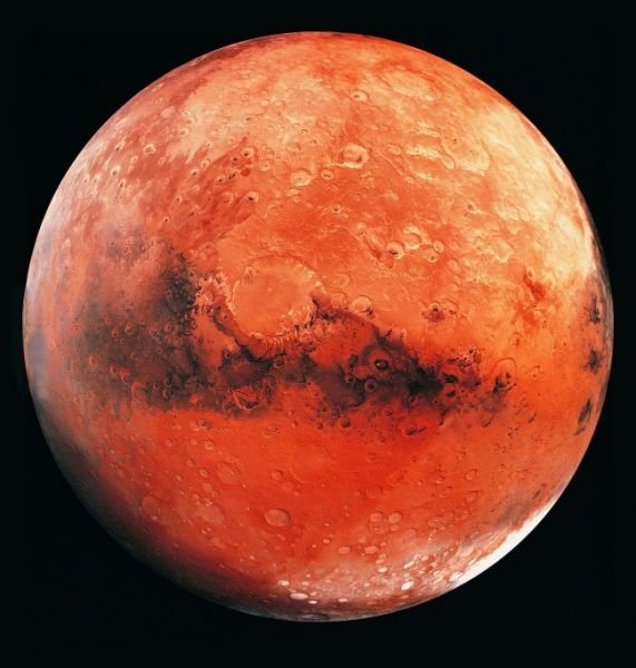 На Марсе обнаружили обломки НЛО