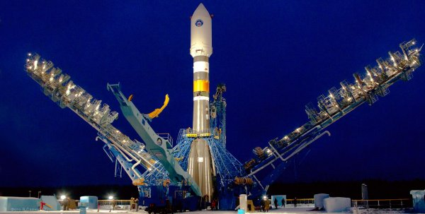 Военный спутник, запущенный с Байконура, выведен на целевую орбиту