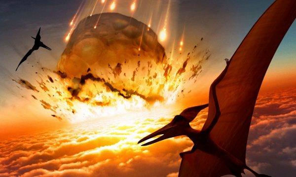 Ученые: Убивший динозавров астероид погрузил Землю на два года во тьму