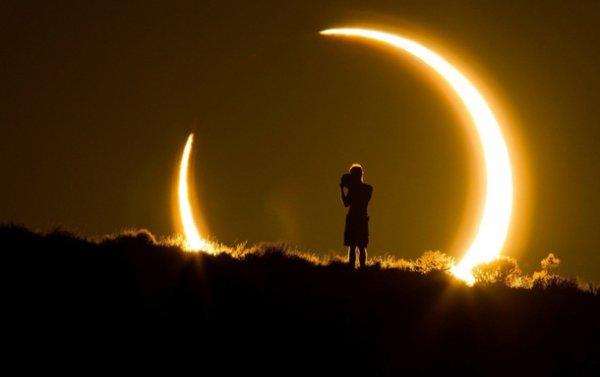 Сайт NASA рухнул во время трансляции «Великого солнечного затмения»