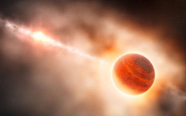 Российские ученые впервые обнаружили экзопланету у красного гиганта