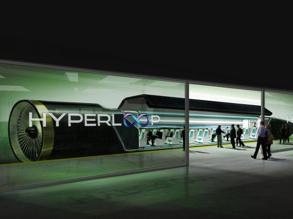 Россия может стать первой страной, где появится сверхбыстрый поезд Hyperloop