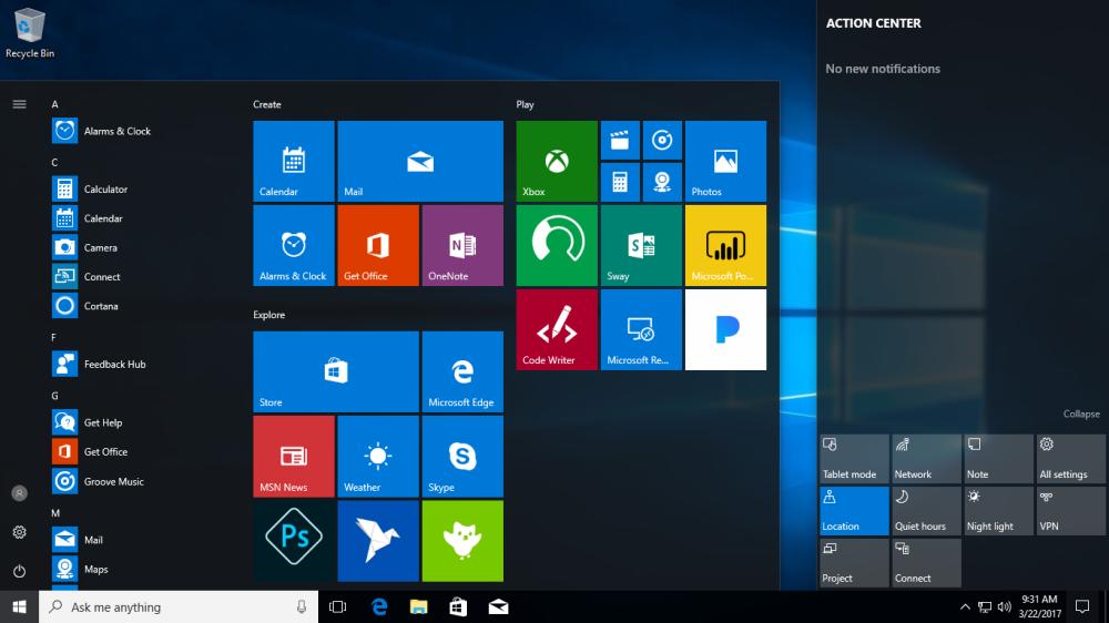 Установка более удобной Windows на компьютер