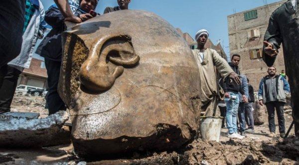 Найденная голова фараона подтверждает подлинность библейских строк