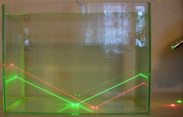 Ученые заставили лазерный луч управлять водным потоком