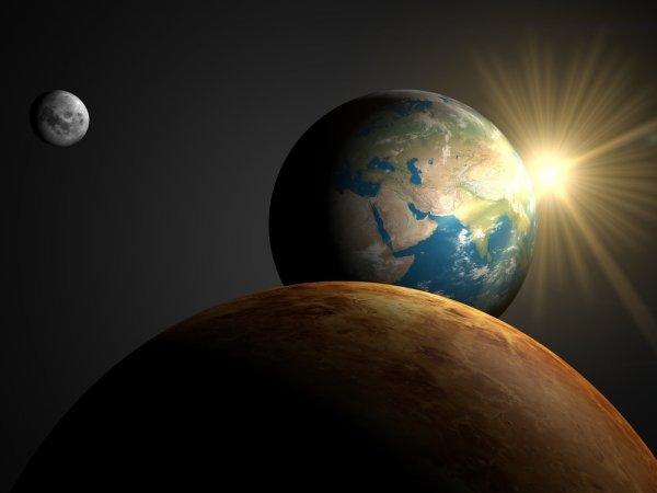 Учёные рассказали о последствиях столкновения Венеры и Земли из-за вспышек на Солнце
