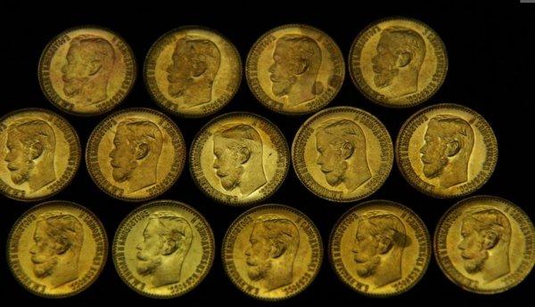 В жилом доме Москвы обнаружен клад с золотыми монетами Николая ІІ