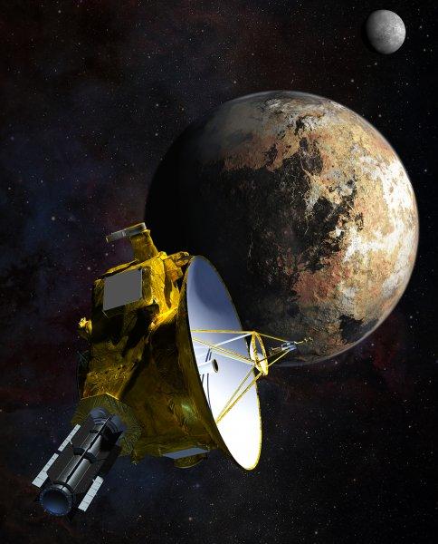 NASA планируют продлить миссию New Horizons