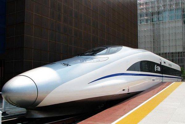 Сверхбыстрый поезд из Китая сможет обогнать самолет
