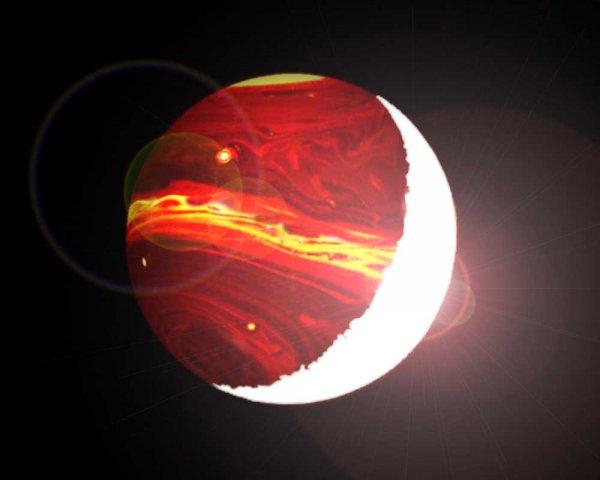 Ученые открыли самую темную планету Галактики