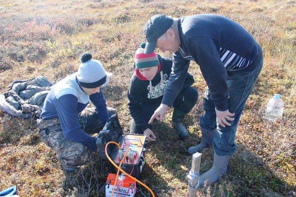Школьники Салехарда совместно с учеными следят за таянием вечной мерзлоты на Ямале