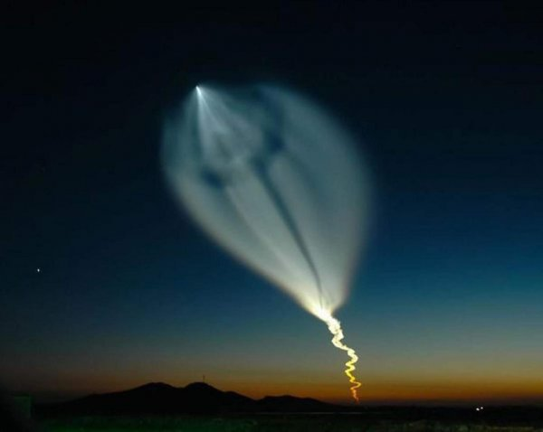 Кировчане увидят в небе огромную светящуюся «медузу» от ракеты