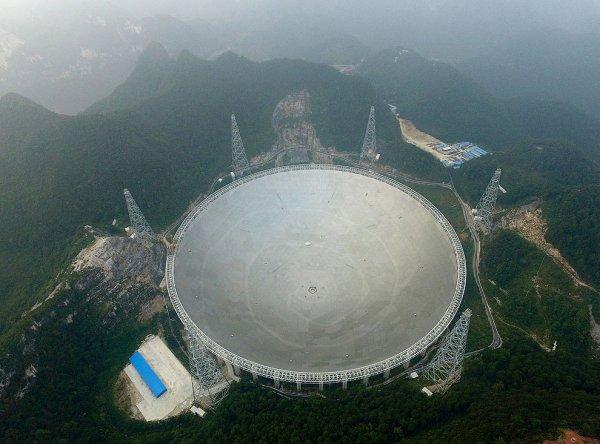 В КНР скончался главный инженер крупнейшего в мире радиотелескопа FAST