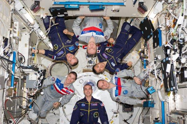 Из-за космических полетов меняется венозная система