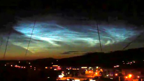 Над Тюменью снова видели НЛО