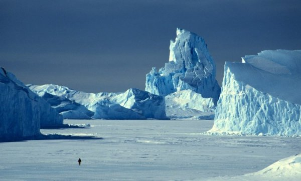 Ученые: Таяние льдов в Артике ставит рекорды