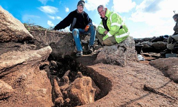 Ученые обнаружили странную могилу с нечеловеческими останками