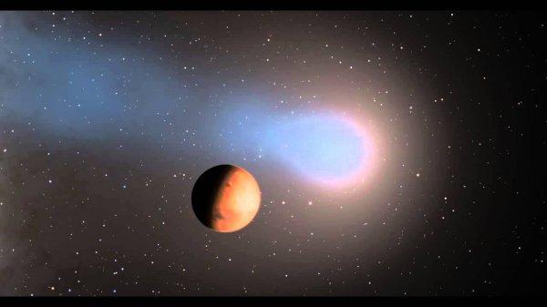 Ученые выяснили итоги встречи кометы, Марса и вспышки на Солнце