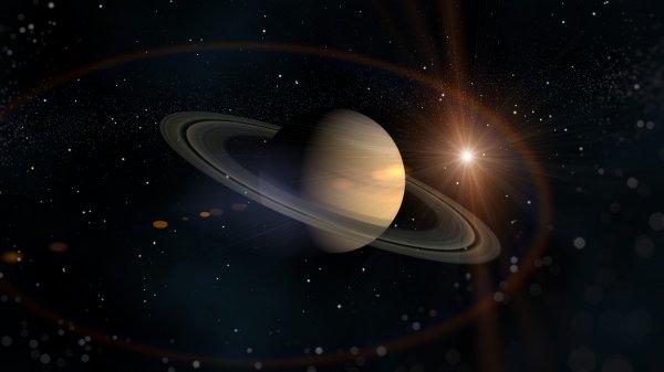 Исследователи NASA сообщили, что на спутнике Сатурна есть красные шрамы