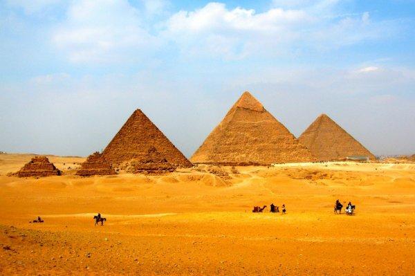 Ученые раскрыли секрет создания египетских пирамид