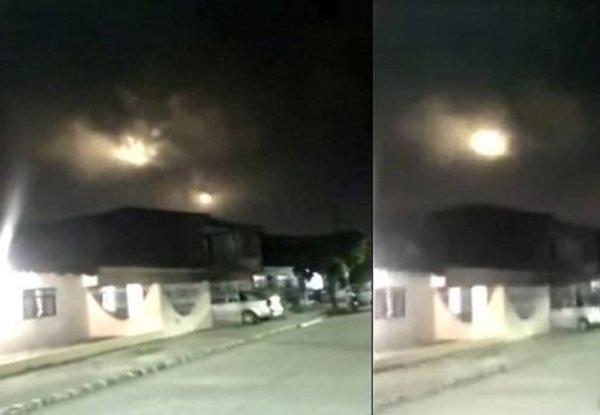 Страшное явление в небе напугало жителей Колумбии: НЛО или предвестник Апокалипсиса?