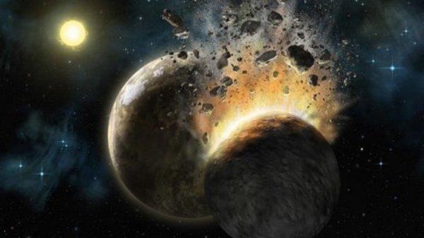 Земля и Марс при рождении потеряли 40% своего веса — Ученые