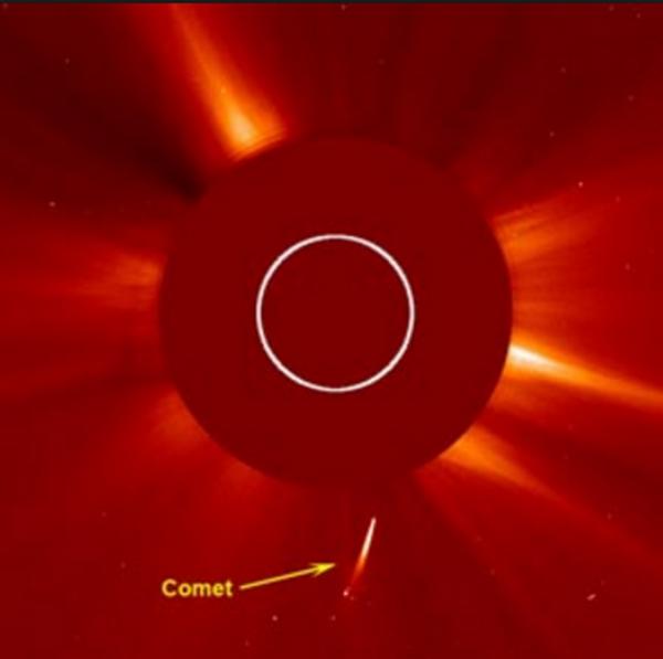 Конспирологи рассказали об упавшей на Солнце огромной комете, предвестнице апокалипсиса