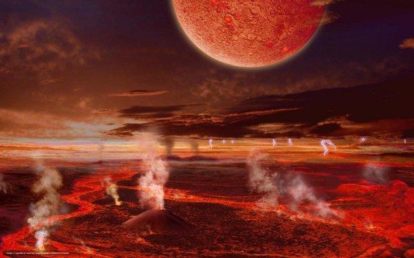 Метеорит с Марса подтвердил активность местных вулканов