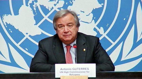 Генсек ООН поздравил Россию с годовщиной запуска спутника Земли