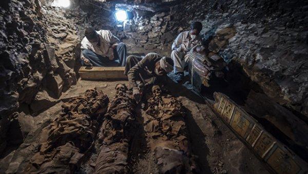 В Луксоре нашли ранее неизвестную древнеегипетскую гробницу