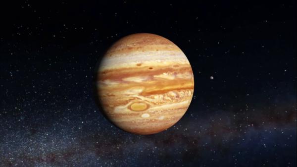 NASA показало новые фотографии Юпитера со спутниками