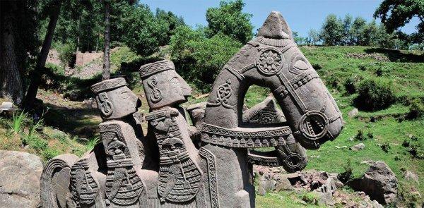 В Гималаях найдены 200 скульптур средневековья